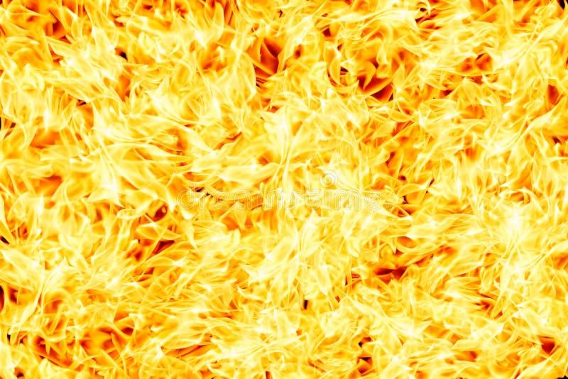 Parete del fondo bruciante del fuoco royalty illustrazione gratis
