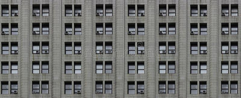 Parete del grattacielo fotografia stock