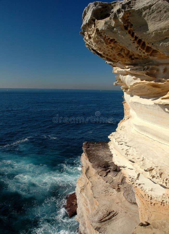 Parete della roccia di Sydney fotografia stock