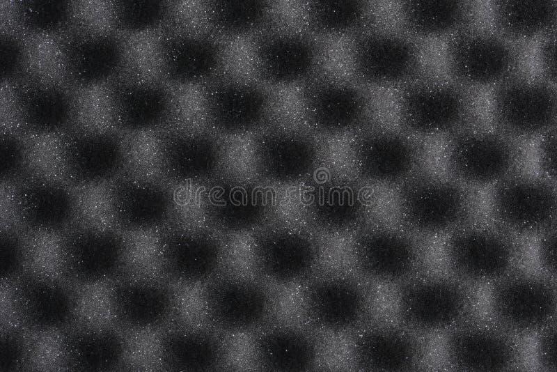 Parete della schiuma fonoisolante fotografia stock