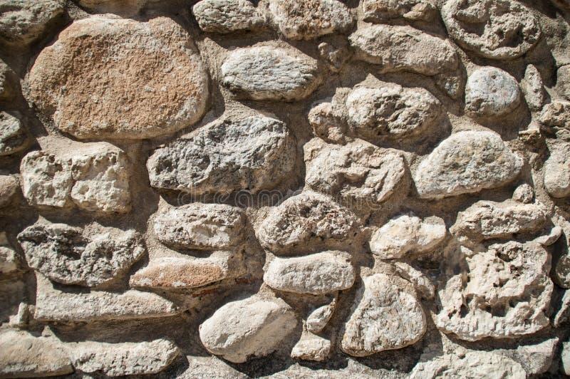 Parete delle rocce marroni fotografie stock libere da diritti