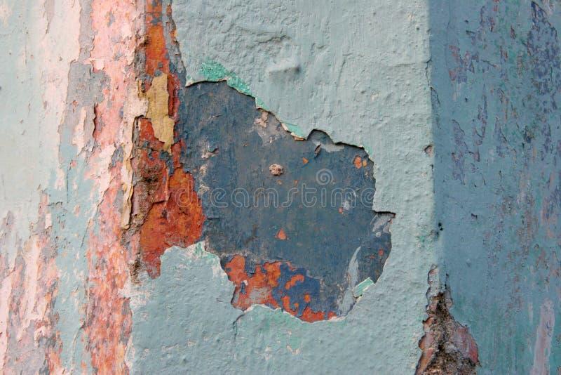 Download Parete Di Grunge Con La Vernice Della Sbucciatura Fotografia Stock - Immagine di creativo, vernice: 3891862