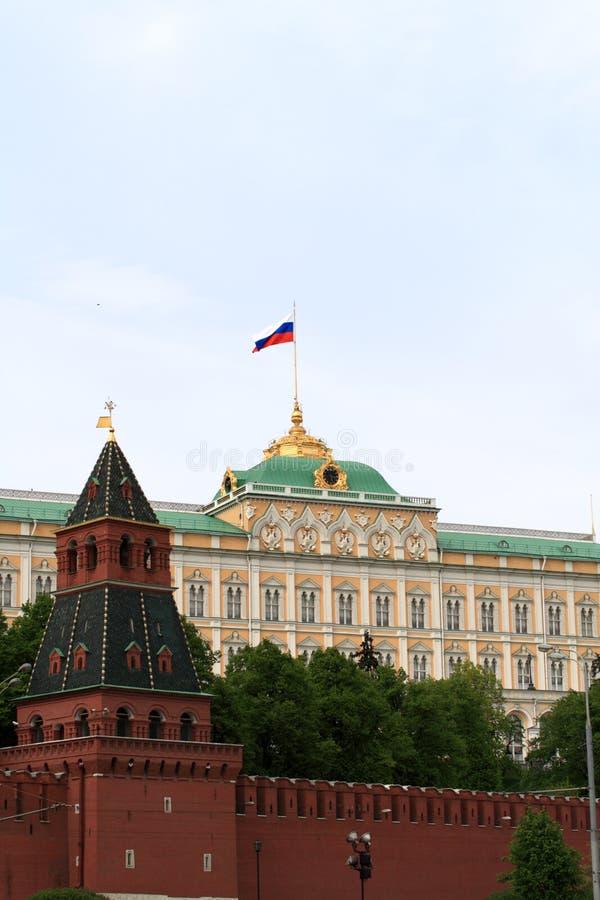 Parete di Kremlin fotografia stock