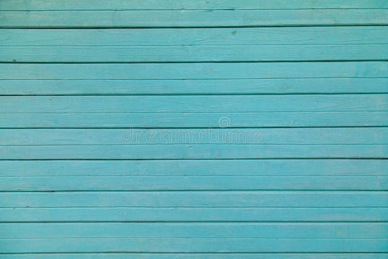 Parete di legno blu di struttura delle plance per progettazione immagine stock libera da diritti