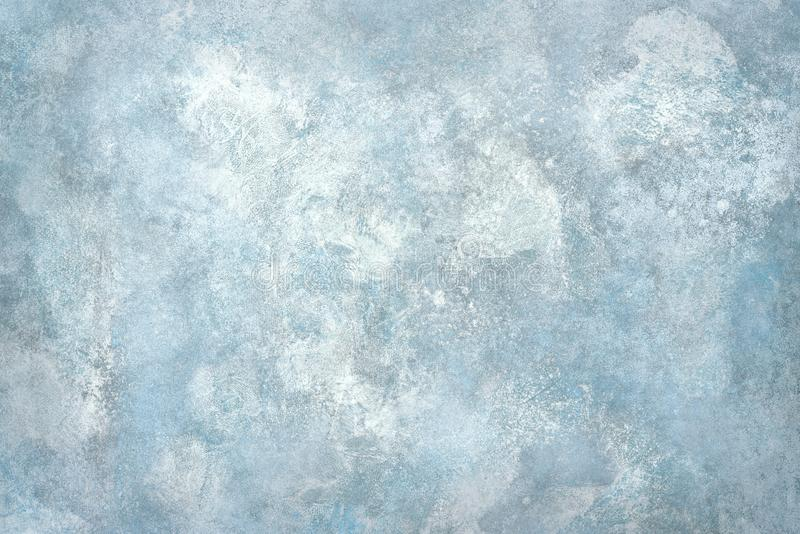 Parete di pietra o pavimento blu-chiaro immagini stock