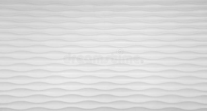 Parete di struttura di Wave nel bianco fotografie stock