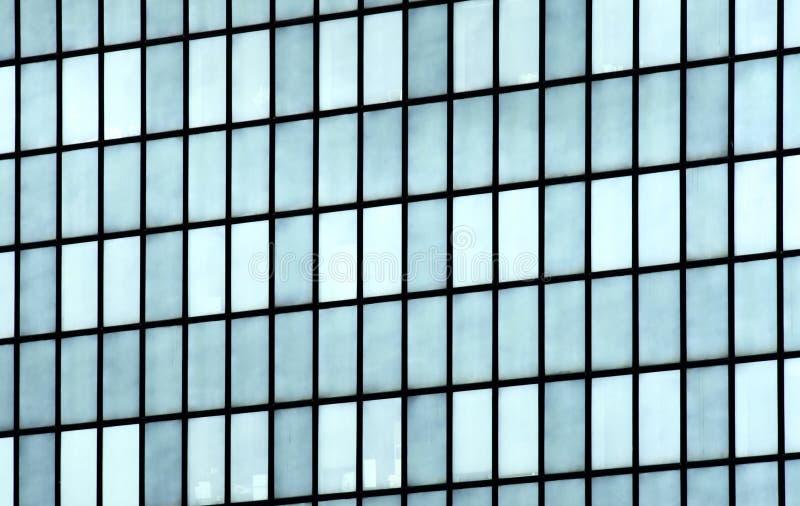Parete di vetro dello specchio della costruzione fotografia stock libera da diritti
