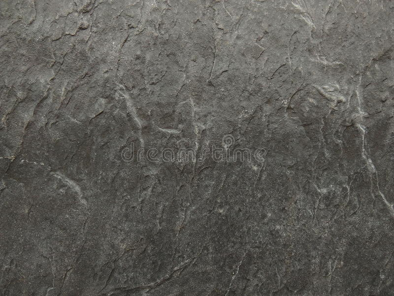 Parete grigio scuro del granito fotografia stock