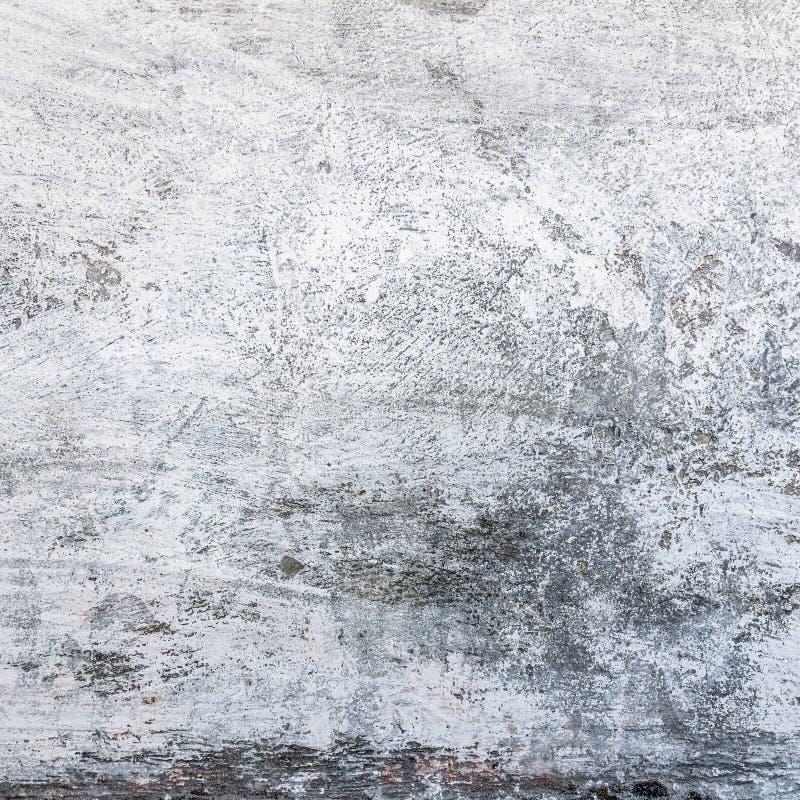Parete grungy bianca del cemento immagine stock