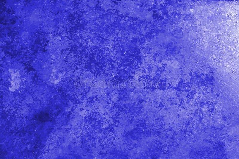 Parete scura blu decorativa Backg dello stucco di bello lerciume dell'estratto immagini stock