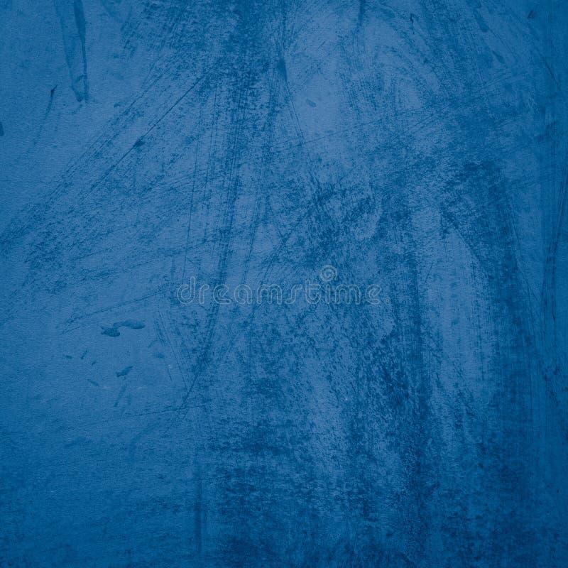Parete scura dello stucco dei bei blu navy decorativi astratti di lerciume immagini stock