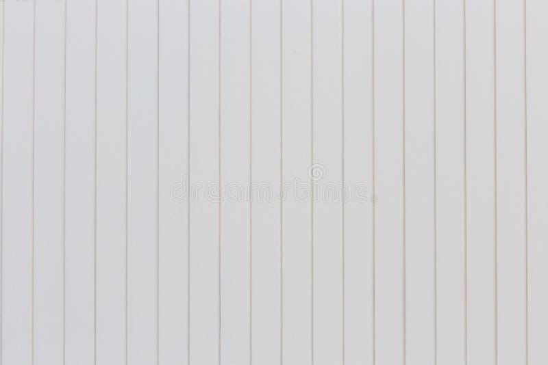 Parete strutturata di legno bianca della tavola immagini stock