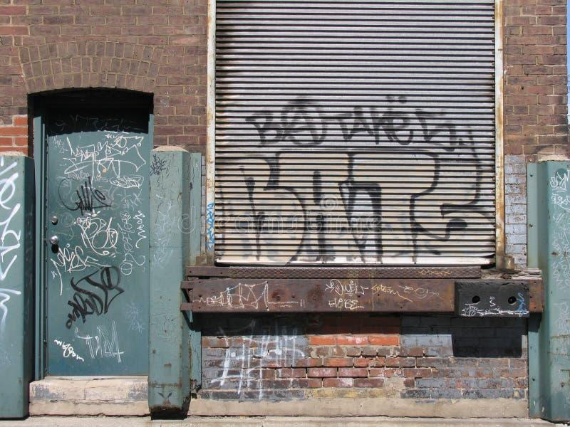 Parete urbana fotografia stock libera da diritti