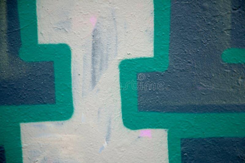 Parete urbana dei graffiti fotografia stock libera da diritti