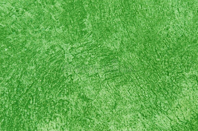 Parete verde del cemento fotografia stock libera da diritti