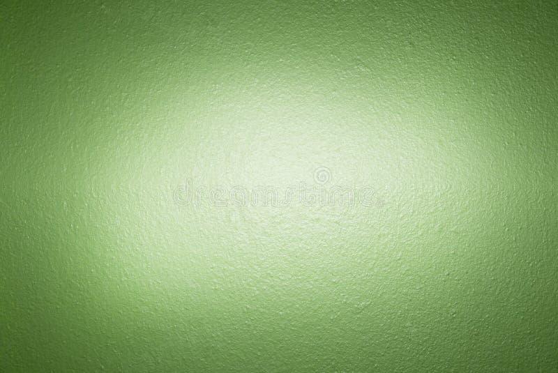 Parete verde del cemento immagine stock libera da diritti