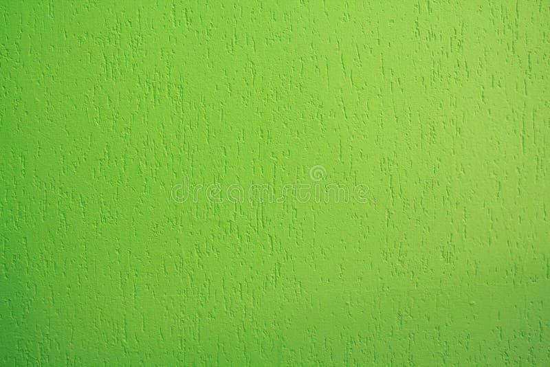 Parete verde intenso dello stucco fotografia stock libera da diritti
