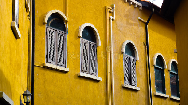 Pareti della finestra fotografie stock libere da diritti