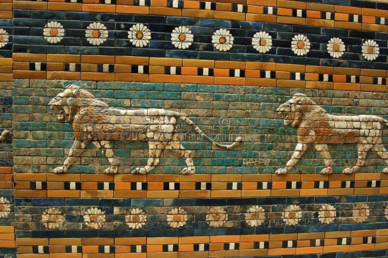 Pareti di Babylon fotografie stock