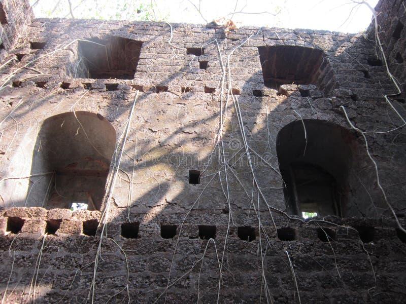 Pareti di vecchia fortificazione fotografia stock