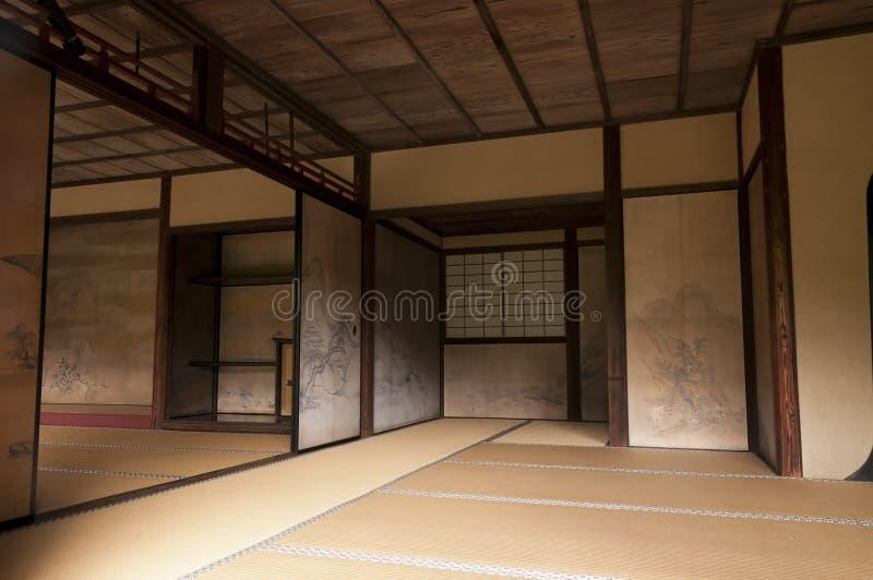Pareti interne giapponesi della casa decorate da tanyu kano fotografia stock immagine di - Verniciatura pareti interne casa ...