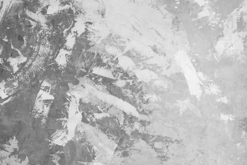 pareti stile sottotetto del gesso, spazio grigio, bianco, vuoto usato come carta da parati Popolare nella progettazione o nell'in immagini stock libere da diritti