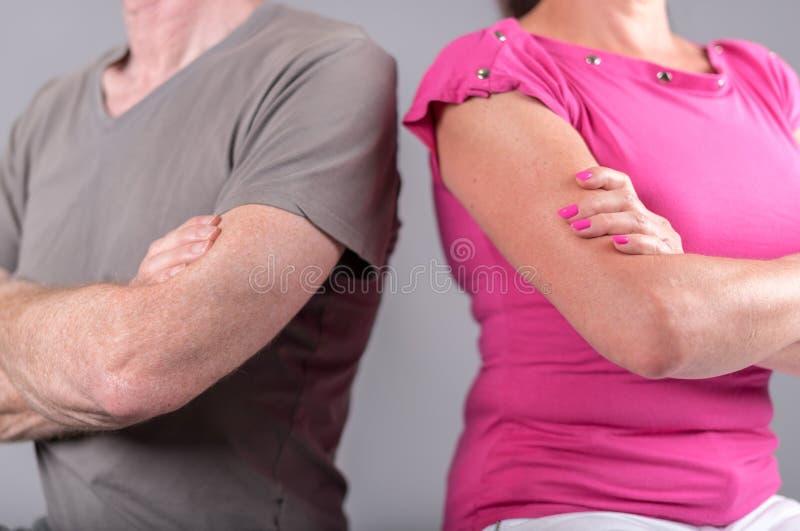 Parförhållandeproblem royaltyfria bilder