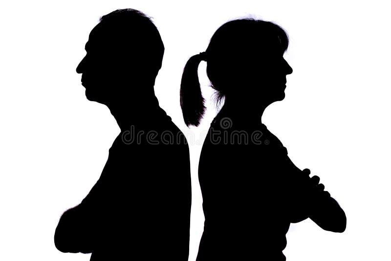 Parförhållandeproblem royaltyfri foto
