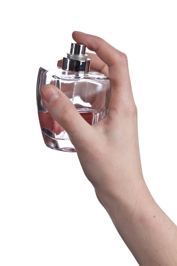 Parfum à disposition photo stock