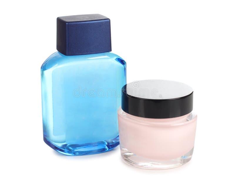 Parfum στο γυαλί στοκ εικόνες