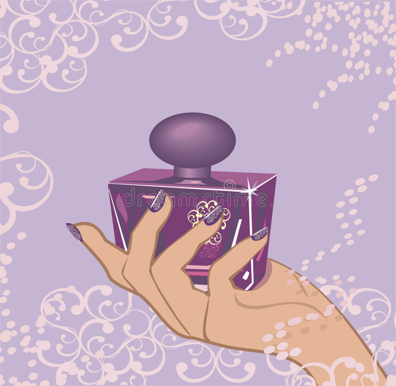 Parfum illustration libre de droits