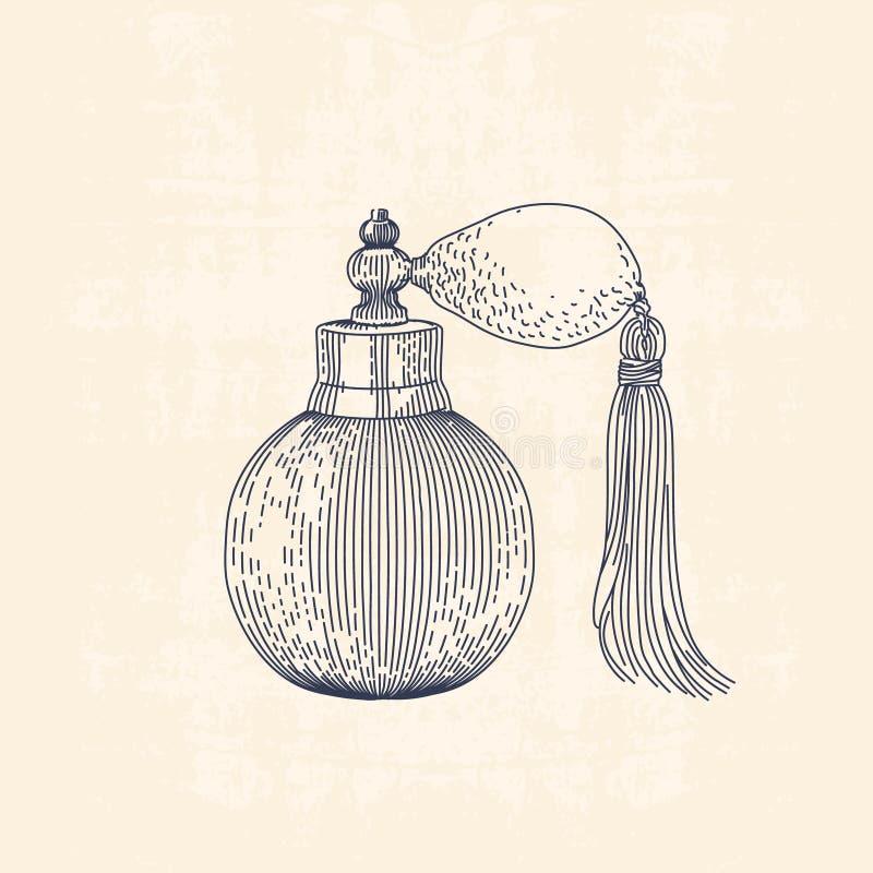 Parfum illustration libre de droits