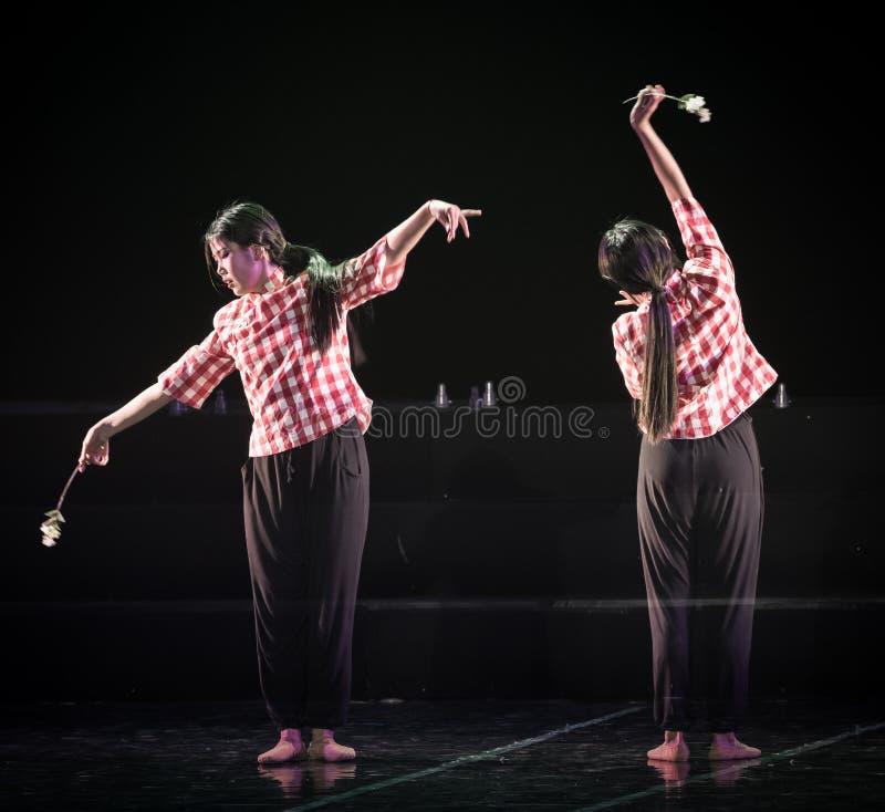 Parfum de drame de danse des fleurs sauvages 2-Lilac image stock