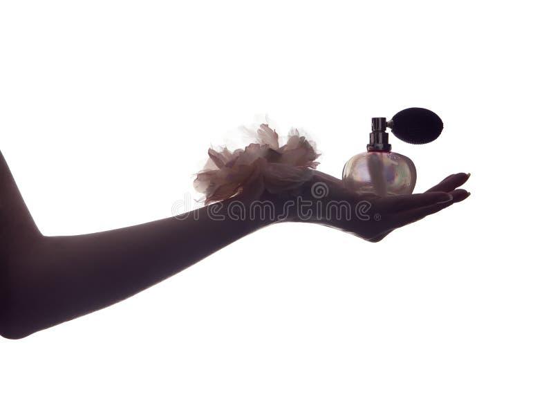 Parfum de parfum de cru images stock
