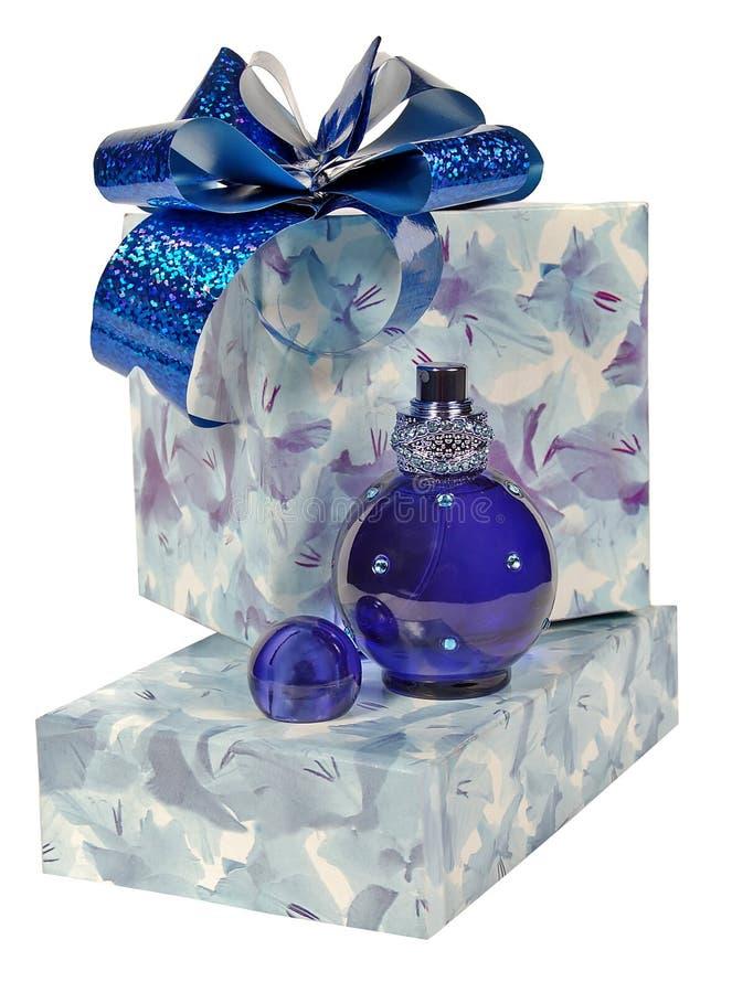 Parfum et cadeau photographie stock libre de droits