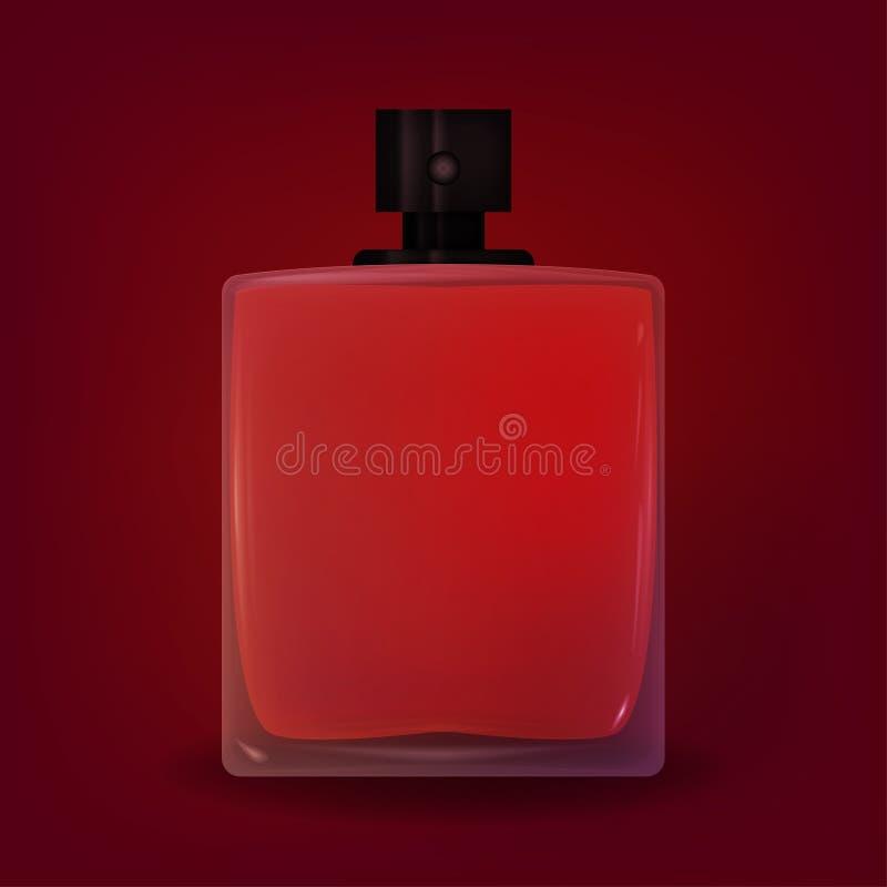Parfum, graphiques de vecteur de parfum illustration de vecteur