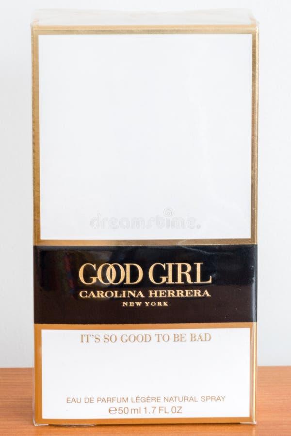 Parfum van het MEISJEScarolina herrera van Carolina Herrera het GOEDE royalty-vrije stock fotografie