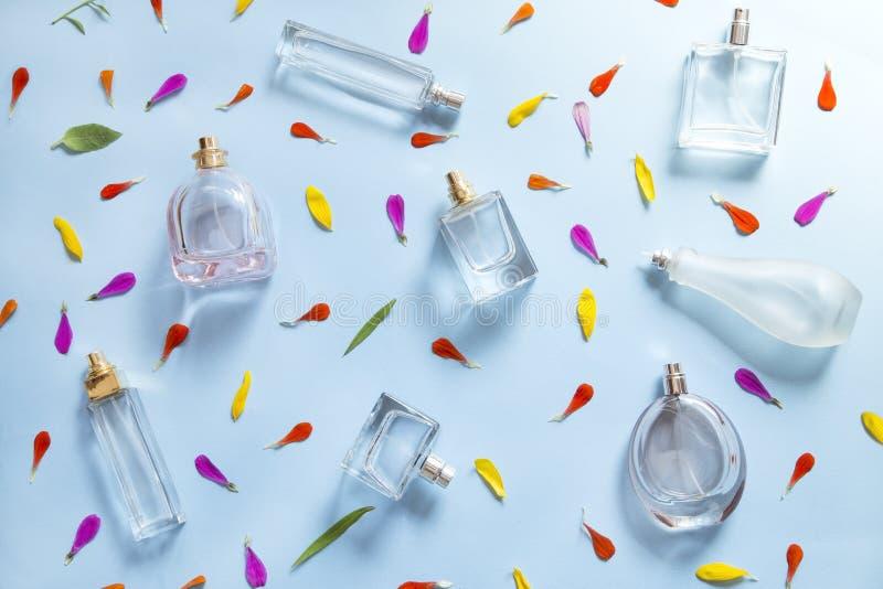 Parfumachtergrond stock illustratie