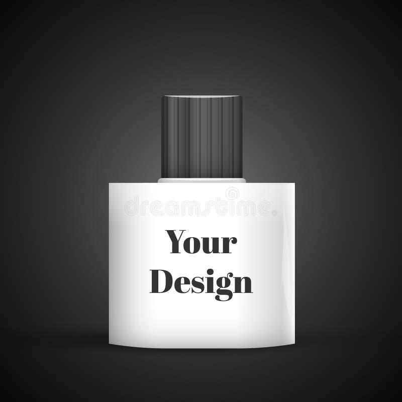 Parfume cosmétique, désodorisant, refraîchissant ou médical illustration stock