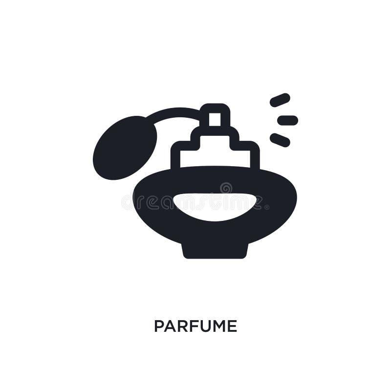 parfume odosobniona ikona prosta element ilustracja od kobiety pojęcia ubraniowych ikon parfume logo znaka symbolu editable proje ilustracji