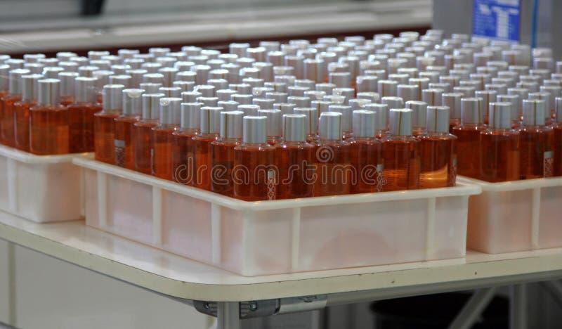 Parfume produkcja zdjęcie royalty free