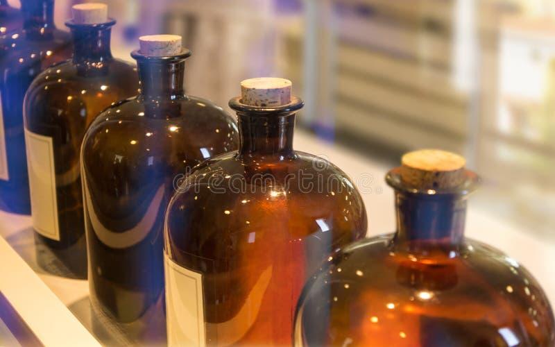 Parfumelaboratorium stock afbeelding