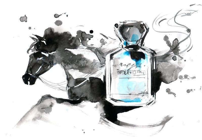 parfums stock illustratie