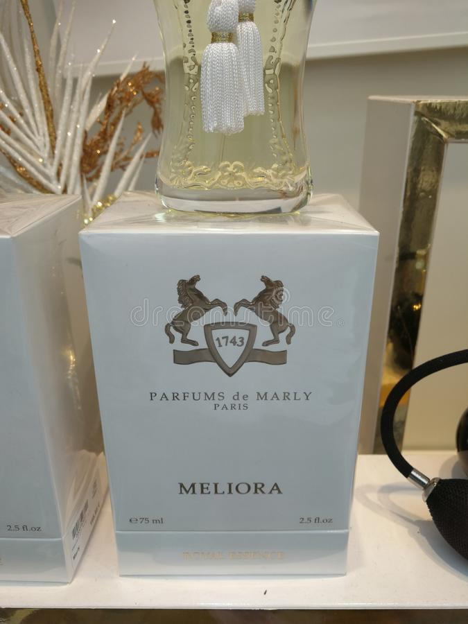 Parfums de Marly Meliora EAU de Parfum στοκ φωτογραφία