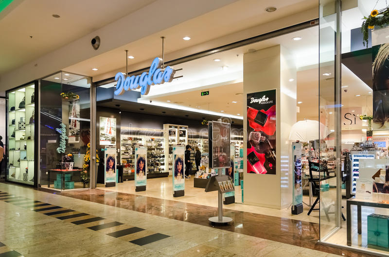 Parfumwinkel royalty-vrije stock afbeelding