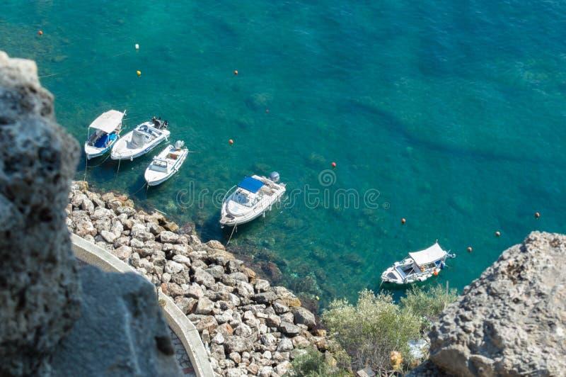 Parga city, Greece stock image