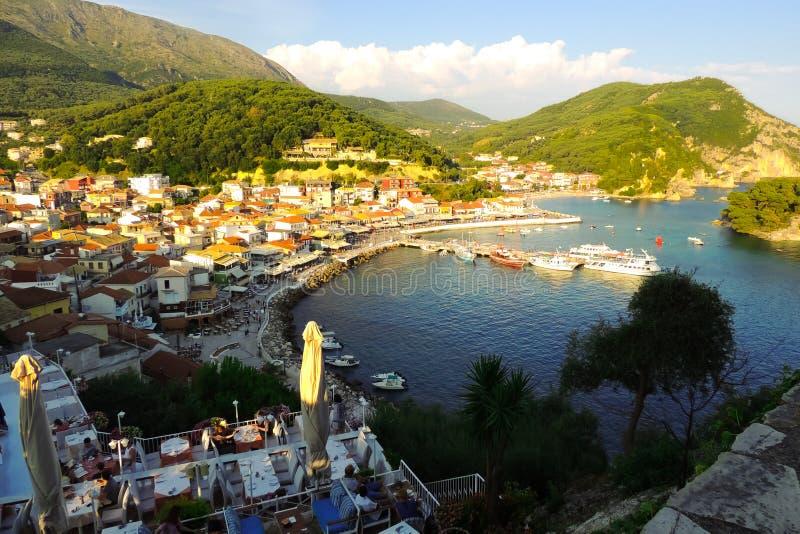 Parga, Grèce photographie stock libre de droits