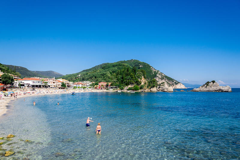 Parga Greece foto de stock