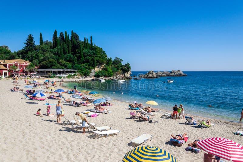 Parga Greece fotos de stock