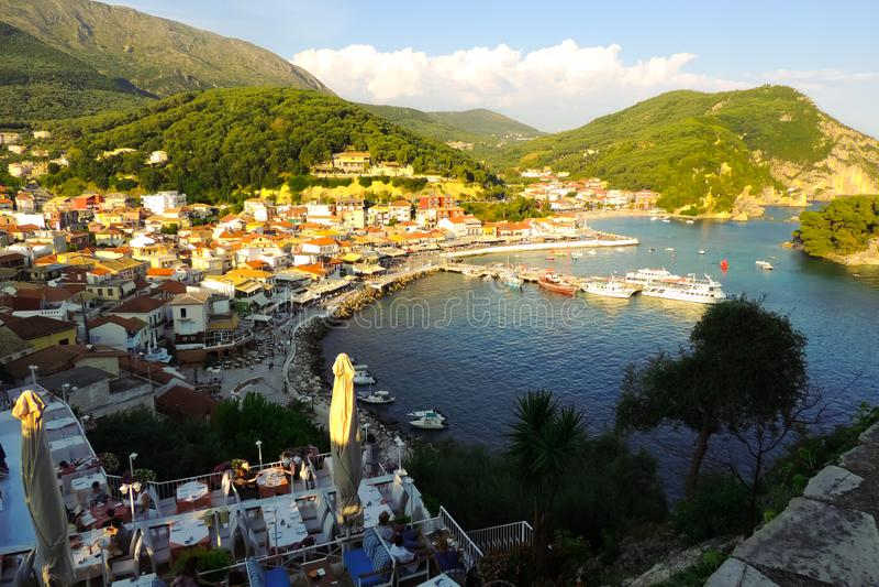 Parga, Griechenland lizenzfreie stockfotografie